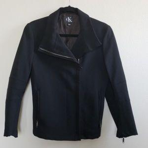 Calvin Klein Black Blazer Jacket, Size 6